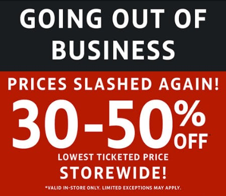 30-50% Off on our Lowest Ticketed Price