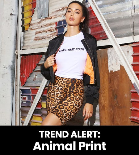 TREND ALERT: ANIMAL PRINT from Windsor