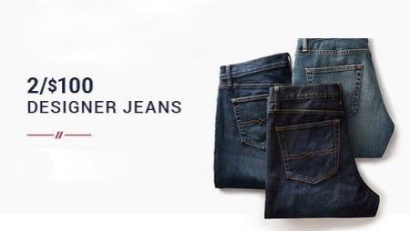 2 for $100 Designer Jeans