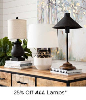 25% Off All Lamps from Kirkland's
