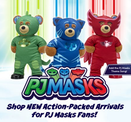 Our New PJ Masks Collection from Build-A-Bear Workshop