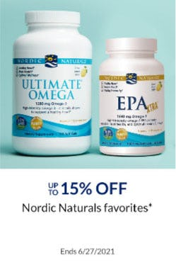 Up to 15% Off Nordic Naturals Favorites from The Vitamin Shoppe