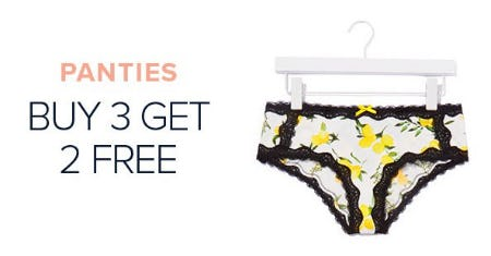 Panties Buy 3, Get 2 Free from Torrid