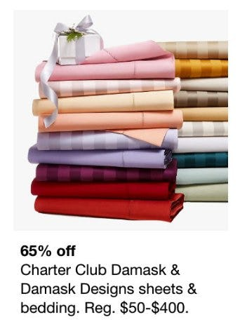 65% Off Charter Club Damask and Damask Designs Sheets and Bedding from macy's