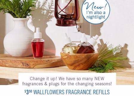 $3.50 Wallflowers Fragrance Refills