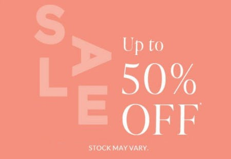 Sale up to 50% Off from L'Occitane