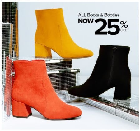 25% Off All Boots & Booties from Rainbow