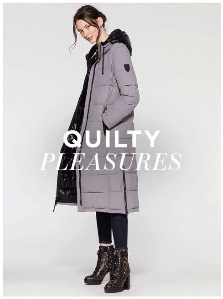 Urban-Cool Puffer Coats from Vince Camuto