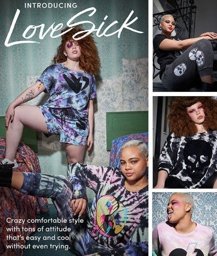 Introducing the LoveSick Collection from Torrid