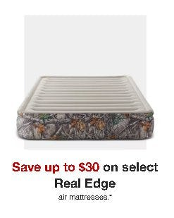 Save up to $30 on Select Real Edge Air Mattresses from Target