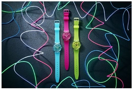 New Swatch Essentials just for You from Swatch