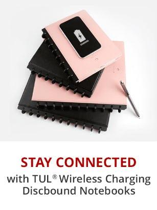 TUL Wireless Charging Discbound Notebooks