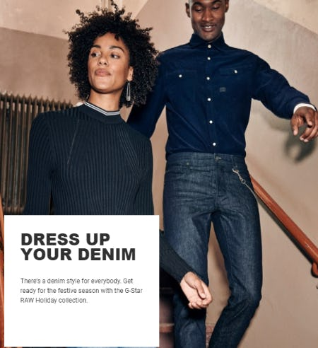 Dress Up your Denim from G-Star Raw