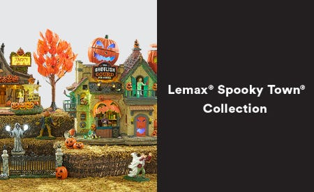 Lemax Spooky Town Collection from Michaels