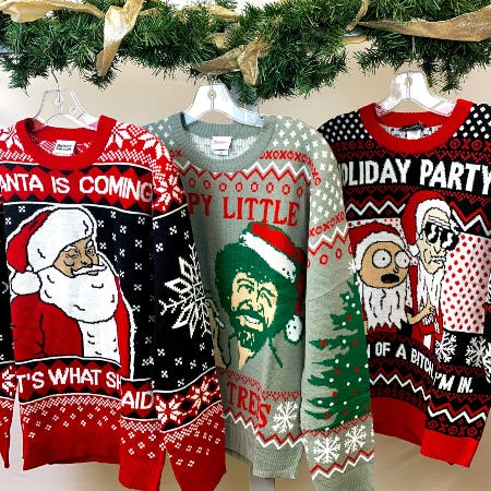 New Ugly Sweaters!