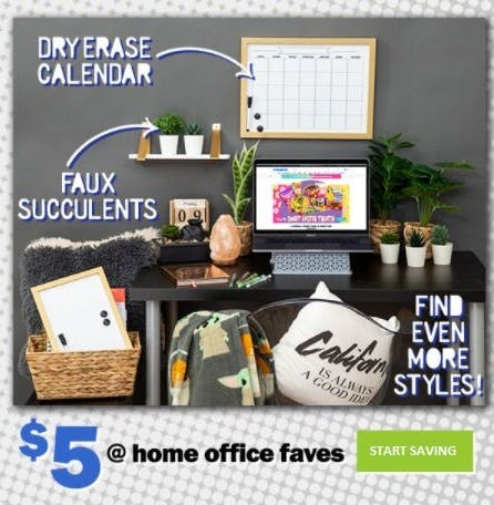 $5 Home Office Faves from Five Below