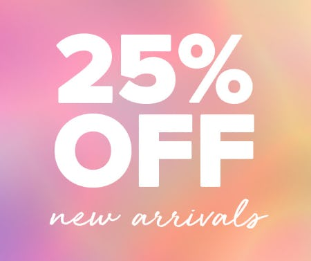 25% Off on New Arrivals from Fashion To Figure