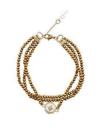 Celestine Beaded Bracelet