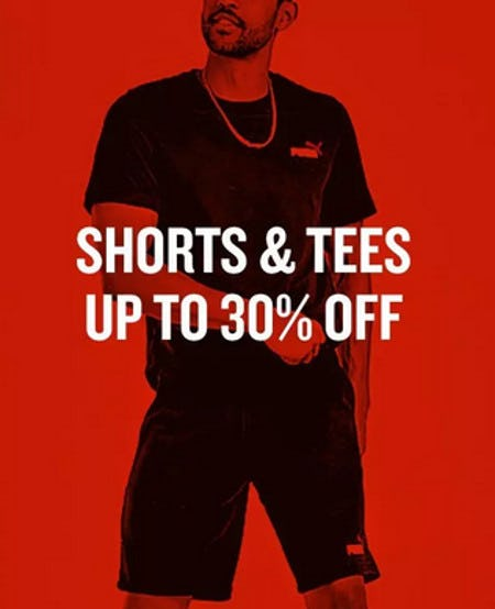 Shorts & Tees Up to 30% Off from Finish Line