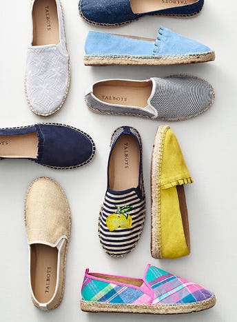 The Summer Espadrille from Talbots