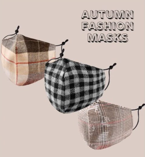New Masks for the Fall Season from Charming Charlie