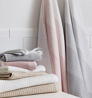 100% Organic Bath Towels from West Elm