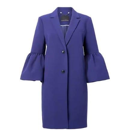 Bell-Sleeve Coat