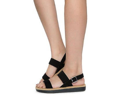Bamboo Black Women's Upraise Sandals