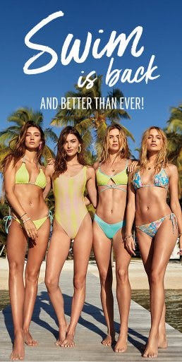 Swim is Back and Better than Ever from Victoria's Secret