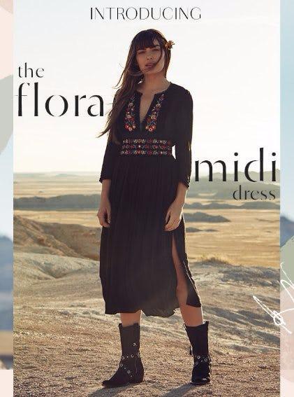 Introducing The Flora Midi Dress