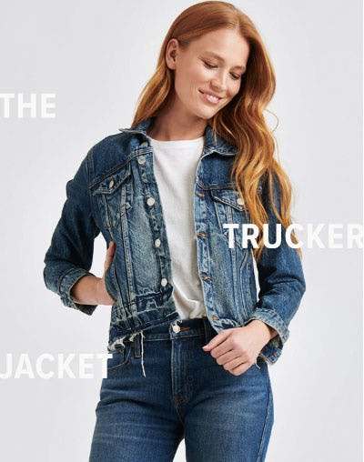 The Trucker Jacket from Lucky Brand Jeans