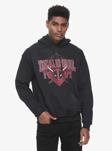 Marvel Deadpool 1991 Hoodie from Hot Topic