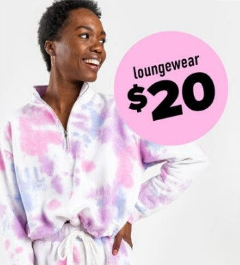 $20 Loungewear from francesca's