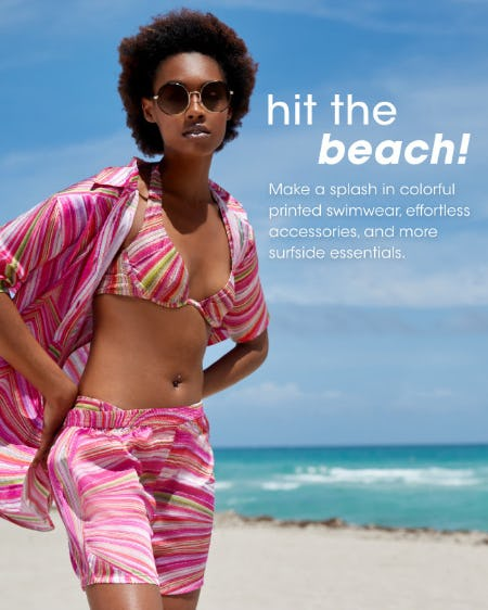 Hit The Beach from Bloomingdale's