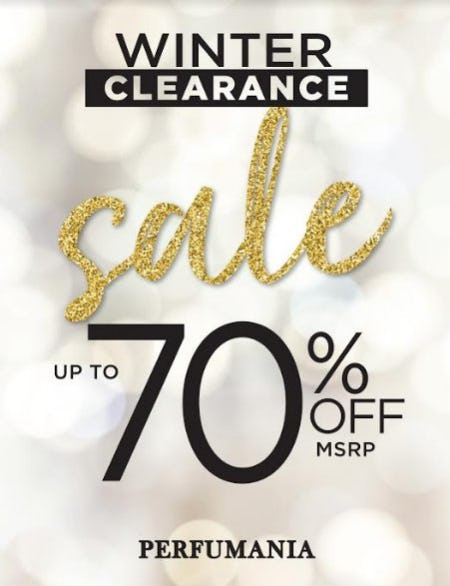 Winter Clearance Sale from Perfumania