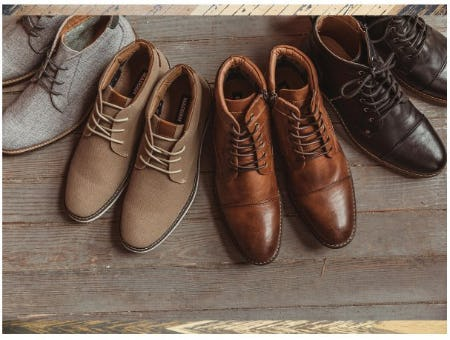 Footwear for Fall from Buckle
