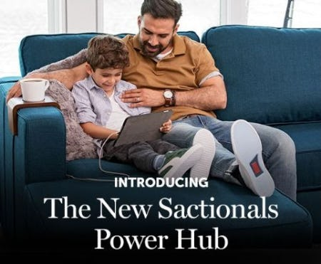 Introducing the New Sactionals Power Hub from Lovesac