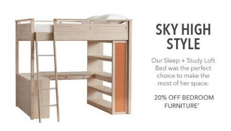 20% Off Bedroom Furniture