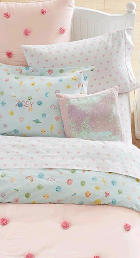 Colorful & Cozy Bedding from Pottery Barn Kids