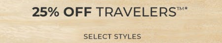 25% Off Travelers from Chico's