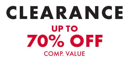 Clearance: Up to 70% Off Comp. Value from DSW Shoes
