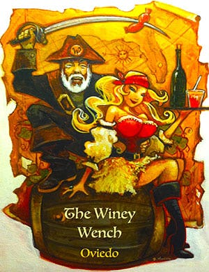 The Winey Wench logo