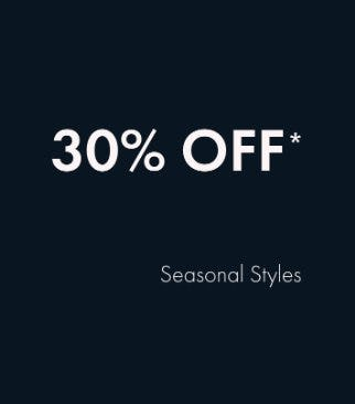 30% Off Seasonal Styles from Ted Baker London