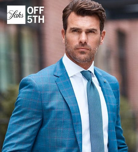Men's Wardrobe Event - Shop Up To 70% OFF* at Saks OFF 5TH! from Saks Fifth Avenue OFF 5TH