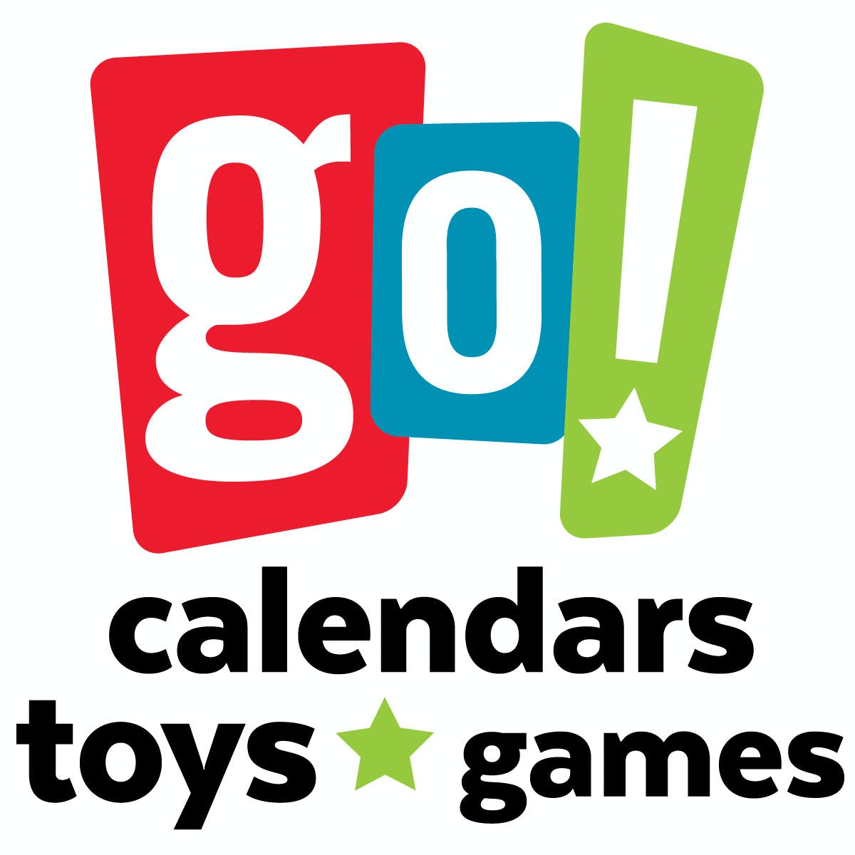 Go! Calendars Games & Toys Logo