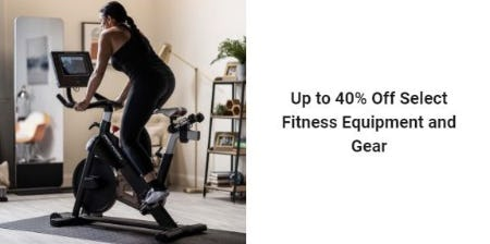 Up to 40% Off Select Fitness Equipment and Gear from Dick's Sporting Goods
