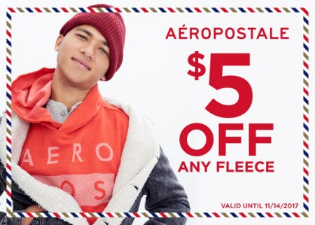 $5 off any fleece!