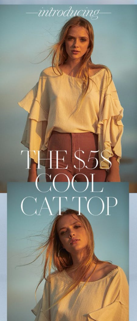 Introducing The Cool Cat Top