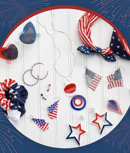Patriotic Accessories from Versona