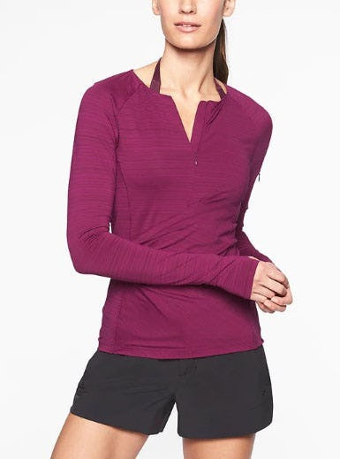 Pacifica Wrap Front Top from Athleta